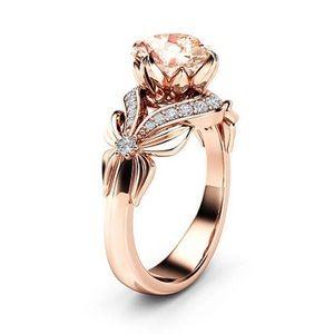 Rose Gold Bowknot Ring